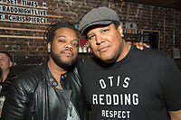 Darwin Johnson and Chris Pierce attend RADD(R)+UBER Present Free Show at The Hi Hat To Support DUI Awareness & Road Safety on September 29, 2017 (Photo by Tony Ducret/Guest of a Guest)