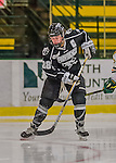 1 February 2015: Providence College Friar Forward Beth Hanrahan, a Senior from Poolesville, MD, in first period action against the University of Vermont Catamounts at Gutterson Fieldhouse in Burlington, Vermont. The Friars fell to the Lady Cats 7-3 in Hockey East play. Mandatory Credit: Ed Wolfstein Photo *** RAW (NEF) Image File Available ***