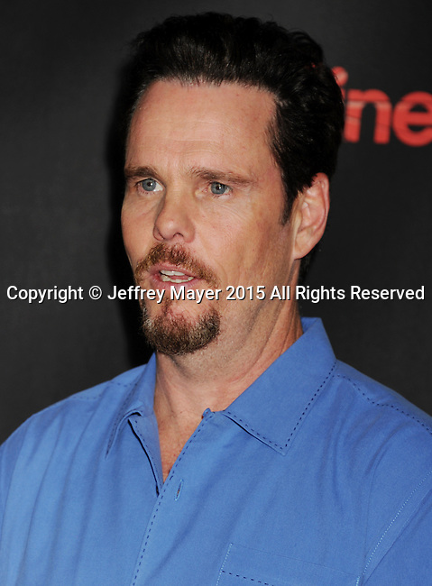 LAS VEGAS, CA - APRIL 21: Actor Kevin Dillon arrives at Warner Bros. Pictures Invites You to ?The Big Picture at The Colosseum at Caesars Palace during CinemaCon, the official convention of the National Association of Theatre Owners, on April 21, 2015 in Las Vegas, Nevada.