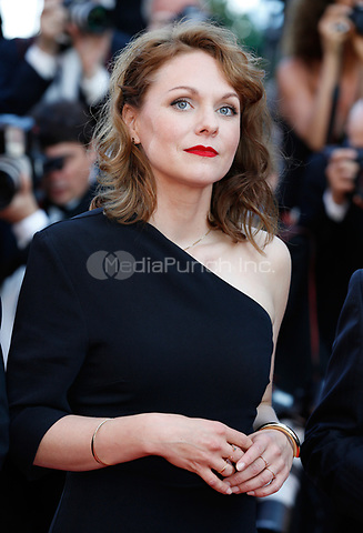 Maren Ade arrives to attend the closing ceremony of the 70th Annual Cannes Film Festival at Palais des Festivals in Cannes, France, on 28 May 2017. <br />