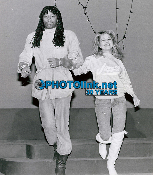 Rick James & Pia Zadora 1986<br /> Photo By John Barrett-PHOTOlink.net