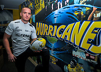 French rugby player Clement Querru at Hurricanes Rugby League Park headquarters in Wellington, New Zealand on Friday, 15 June 2018. Photo: Dave Lintott / lintottphoto.co.nz