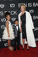 NE WYORK, NY - DECEMBER 3: Mia Fowler, Jakari Fraser and Julia Roberts at the New York Premiere Of Ben Is Back at AMC Loews Lincoln Square in New York City on December 3, 2018. <br /> CAP/MPI/JP<br /> &copy;JP/MPI/Capital Pictures