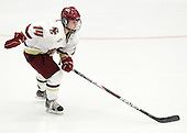 Emily Pfalzer (BC - 14)  - The Northeastern University Huskies defeated the Boston College Eagles in a shootout on Monday, January 31, 2012, in the opening round of the 2012 Women's Beanpot at Walter Brown Arena in Boston, Massachusetts. The game is considered a 1-1 tie for NCAA purposes.