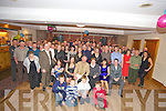 Sean and Betty Dennehy, Artigalvin, Killarney pictured with family and friends as they celebrated their joint 60th birthdays in Darby O'Gills on Friday night.....   Copyright Kerry's Eye 2008
