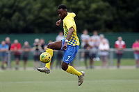 Dejuane Taylor of Harlow Town during Harlow Town vs Leyton Orient, Friendly Match Football at The Harlow Arena on 6th July 2019