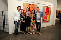 SANTA MONICA - JUN 25: Guests, Mallory Jansen, guests at the David Bromley LA Women Art Exhibition opening reception at the Andrew Weiss Gallery on June 25, 2016 in Santa Monica, California