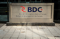 BDC office is pictured in Ottawa Tuesday November 18, 2014. The Business Development Bank of Canada is a crown corporation financial institution wholly owned by the Government of Canada that plays a leadership role in delivering financial and consulting services to Canadian small business, with a particular focus on technology and exporting.