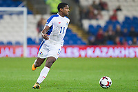 Armando Cooper of Panama during the International Friendly match between Wales and Panama at the Cardiff City Stadium, Cardiff, Wales on 14 November 2017. Photo by Mark Hawkins.