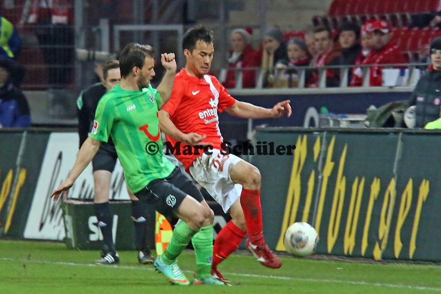 Shinji Okazaki (Mainz)- 1. FSV Mainz 05 vs. Hannover 96, Coface Arena, 21. Spieltag