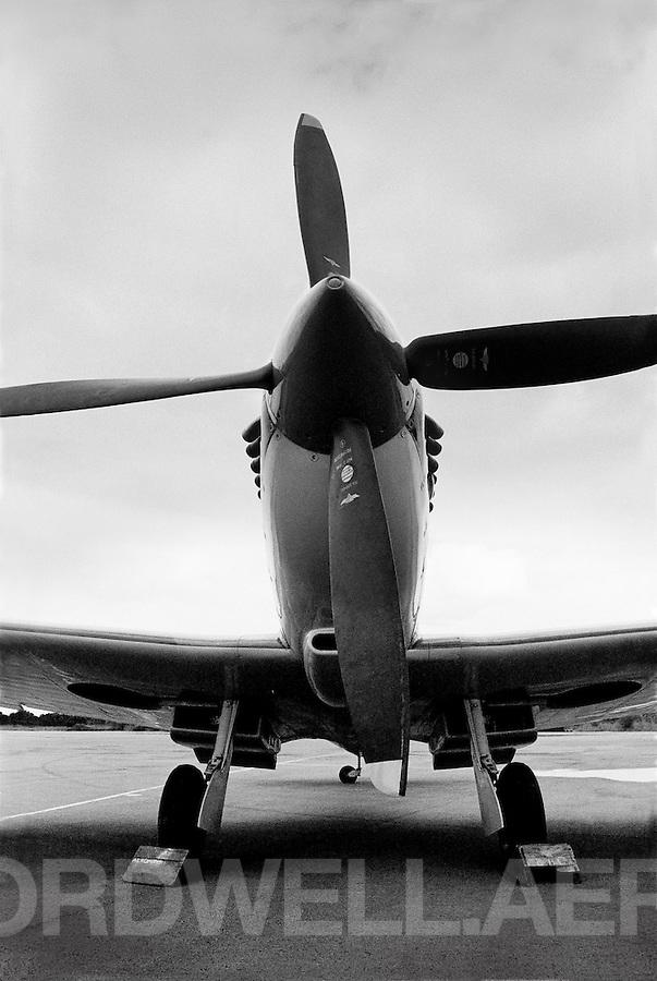 "Mark XV1 Supermarine Spitfire bubble canopy ""SL721"" Portrait"