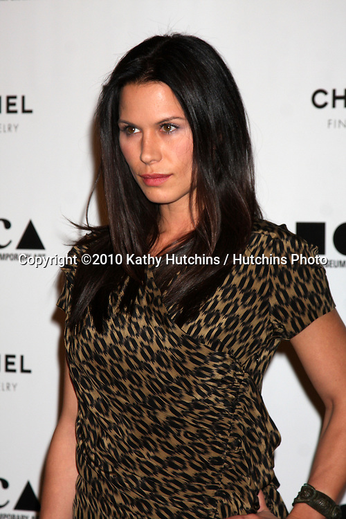 "LOS ANGELES - NOV 13:  Rhona Mitra arrives at the MOCA's Annual Gala ""The Artist's Museum Happening"" 2010 at Museum of Contemporary Art on November 13, 2010 in Los Angeles, CA"
