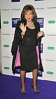 LONDON, ENGLAND - OCTOBER 08: Dame Joan Collins at the Specsavers' Spectacle Wearer of the Year Awards 2019, 8 Northumberland Avenue, Northumberland Avenue on Tuesday 08 October 2019 in London, England, UK. <br /> CAP/CAN<br /> ©CAN/Capital Pictures