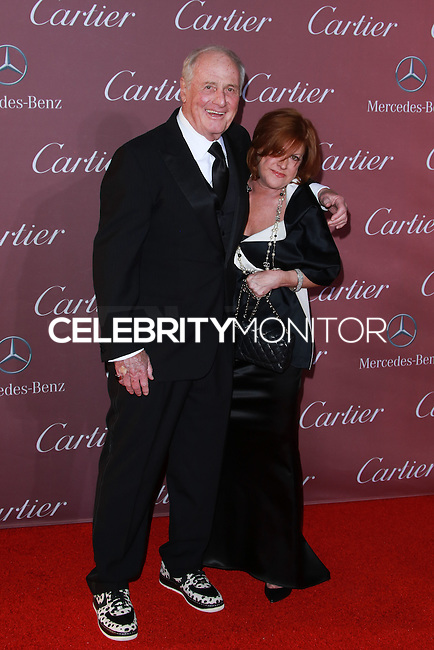 PALM SPRINGS, CA, USA - JANUARY 03: Jerry Weintraub, Susan Ekins arrive at the 26th Annual Palm Springs International Film Festival Awards Gala Presented By Cartier held at the Palm Springs Convention Center on January 3, 2015 in Palm Springs, California, United States. (Photo by David Acosta/Celebrity Monitor)