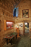 Israel, Carmel Coast. The Mizgaga Museum at Nahsholim houses the Center for Nautical and Regional Archaeology at Dor