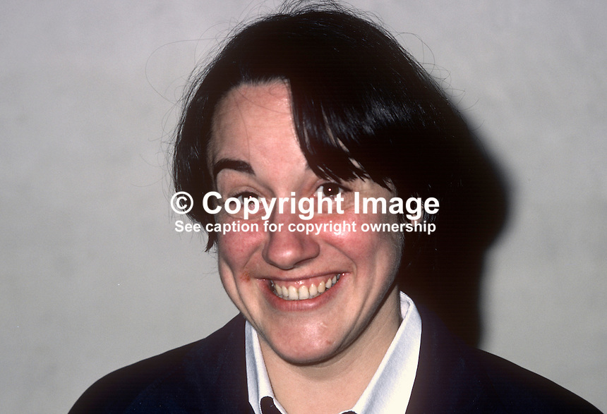 Ann Sheppard, squash player, Irish International, 198101000014AS..Copyright Image from Victor Patterson, 54 Dorchester Park, Belfast, United Kingdom, UK...For my Terms and Conditions of Use go to http://www.victorpatterson.com/Victor_Patterson/Terms_%26_Conditions.html