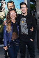 Christopher Mintz-Plasse + girlfriend @ the premiere of 'Keanu' held @ the Cinerama Dome theatre.<br /> April 27, 2016