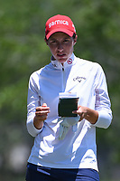 Carlota Ciganda (ESP) looks over her tee shot on 5 during round 3 of the 2019 US Women's Open, Charleston Country Club, Charleston, South Carolina,  USA. 6/1/2019.<br /> Picture: Golffile | Ken Murray<br /> <br /> All photo usage must carry mandatory copyright credit (© Golffile | Ken Murray)