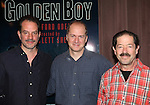Danny Mastrogiorgio, Daniel Jenkins and Jonathan Hadary attending the Meet & Greet for the Lincoln Center Theater's 75th Anniversary Production of 'Golden Boy' at their Rehearsal Studios on 10/25/2012 in New York.