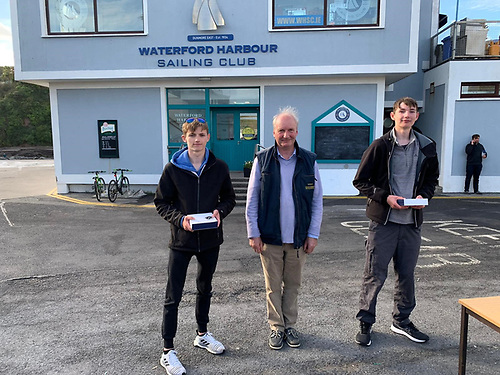 2nd Place Gold- Jack McDowell Malahide Yacht Club and Harry Thompson Wexford Harbour Boat and Tennis Club