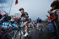 Liege-Bastogne-Liege 2012.98th edition..Andy Schleck on La Redoute