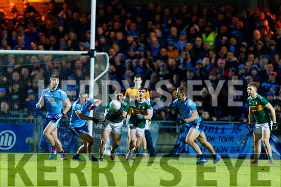Paul Murphy Kerry in action against Cormac Costello Dublin during the Allianz Football League Division 1 Round 3 match between Kerry and Dublin at Austin Stack Park in Tralee, Kerry on Saturday night.