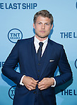 WASHINGTON, DC - JUNE 4: Actor Travis Van Winkle attends The Last Ship premiere screening, a partnership between TNT and the U.S. Navy on June 4, 2014 in Washington, D.C. Photo Credit: Morris Melvin / Retna Ltd.