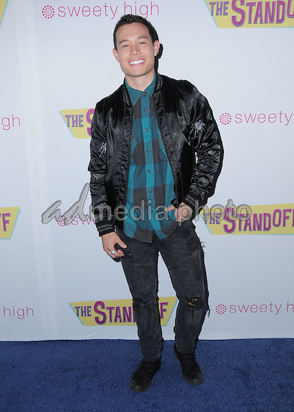 "08 September 2016 - Los Angeles, California. Colton Tran. ""The Standoff"" Los Angeles premiere held at Regal LA Live. Photo Credit: Birdie Thompson/AdMedia"