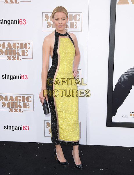 Elizabeth Banks<br />  attends The Warner Bros. Pictures' L.A. Premiere of Magic Mike XXL held at The TCL Chinese Theatre  in Hollywood, California on June 25,2015  <br /> CAP/DVS<br /> &copy;DVS/Capital Pictures