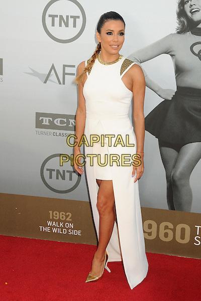 5 June 2014 - Hollywood, California - Eva Longoria. 42nd Annual AFI Life Achievement Award Honoring Jane Fonda held at the Dolby Theatre.  <br /> CAP/ADM/BP<br /> &copy;Byron Purvis/AdMedia/Capital Pictures