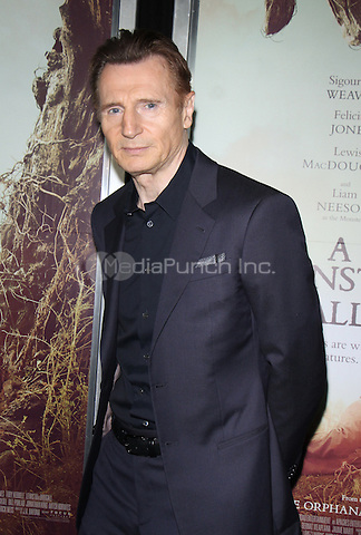 NEW YORK, NY December 067: Liam Neeson| at  Focus Features present New York  Premiere of A Monster Calls  at the AMC Loews Lincoln Square in New York .December 07, 2016. Credit:RW/MediaPunch