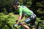 Green Jersey Peter Sagan (SVK) Bora-Hansgrohe in action during Stage 5 of the 2018 Tour de France running 204.5km from Lorient to Quimper, France. 11th July 2018. <br /> Picture: ASO/Pauline Ballet | Cyclefile<br /> All photos usage must carry mandatory copyright credit (&copy; Cyclefile | ASO/Pauline Ballet)