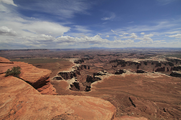 Monument Basin from Grand View Point Overlook in Canyonlands National Park, Utah. .  John offers private photo tours in  Canyonlands National Park and throughout Utah and Colorado. Year-round.