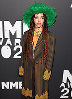 FKA Twigs at the NME Awards 2020 held at the O2 Brixton Academy, London on February 12th 2020<br /> CAP/ROS<br /> ©ROS/Capital Pictures