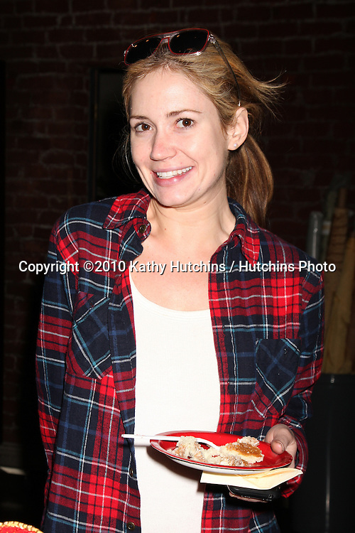 Ashley Jones.at the 23rd Anniversary of Bold and the Beautiful being on air,.Bold & Beautiful Set at CBS Television CIty.Los Angeles, CA.March 23, 2010.©2010 Kathy Hutchins / Hutchins Photo....