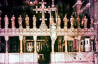 Venice:  Basilica of San Marco--Transept.  Reference only.