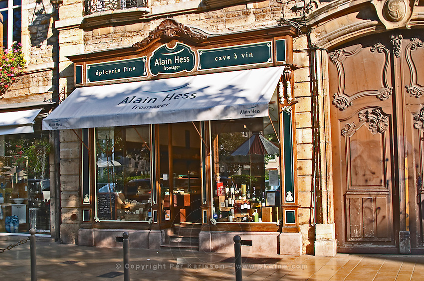 fine food and cheese shop alain hess pl carnot beaune cote de beaune burgundy france