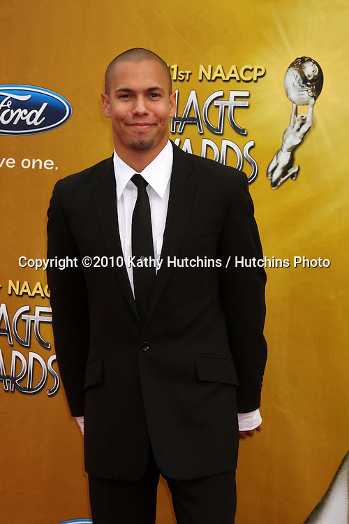 Bryton James.arriving  at the 41st NAACP Image Awards .Shrine Auditorium.Los Angeles, CA.February 26, 2010.©2010 Kathy Hutchins / Hutchins Photo....