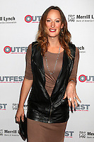 LOS ANGELES, CA - OCTOBER 23: Jen Richards at the 2016 Outfest Legacy Awards at Vibiana in Los Angeles, California on October 23, 2016. Credit: David Edwards/MediaPunch