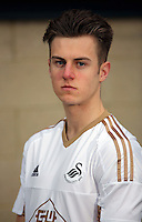 The U19 squad at the Swansea City FC youth academy facility in Landore, south Wales, UK. Thursday 25 Faberuary 2016