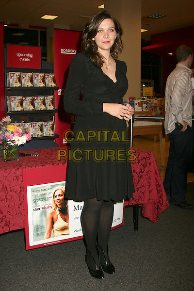 """MAGGIE GYLLENHAAL.""""SherryBaby"""" DVD Signing at Borders Bookstore, Hollywood, California, USA. .January 24th, 2007.Sherry Baby full length black dress ankle boots.CAP/ADM/BP.©Byron Purvis/AdMedia/Capital Pictures"""