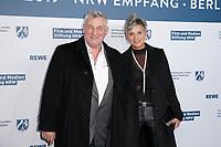 Heinz Hoenig mit Ehefrau Annika Kaersten<br /> ***NRW Reception during the 68th International Film Festival Berlinale, Berlin, Germany - 10 Feb 2019 *** Credit: Action PRess / MediaPunch<br /> *** USA ONLY***