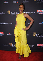 06 January 2018 - Beverly Hills, California - Issa Rae. 2018 BAFTA Tea Party held at The Four Seasons Los Angeles at Beverly Hills in Beverly Hills. <br /> CAP/ADM/BT<br /> &copy;BT/ADM/Capital Pictures