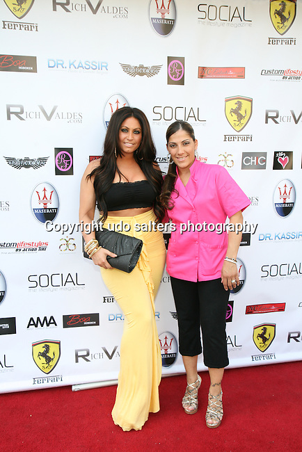 Jerseylicious' Tracy DiMarco and Isabellas Creations' Maria Nitti  Attend Metropolitan Bikini Fashion Weekend 2013 Held at BOA Sponsored by Social Magazine, Maserati and Ferrari, Hoboken NJ