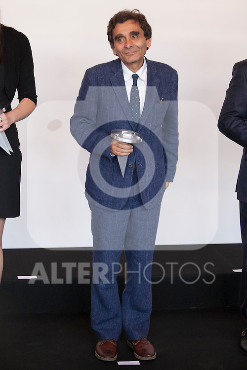 "Fashion designer Adolfo Dominguez attends ""PREMIOS NACIONALES DE LA MODA"" fashion awards ceremony at Reina Sofia museum in Madrid, Spain. June 06, 2013. (ALTERPHOTOS/Victor Blanco)"