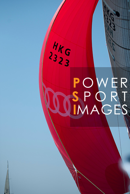 Team Yachtfinders Global, sponsored by Audi, in action during the 2010 China Cup International Regatta.
