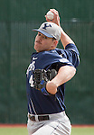 March 24, 2012: BYU Cougars starter Chris Capper got the win against the Nevada Wolf Pack during their NCAA baseball game played at Peccole Park on Thrusday afternoon in Reno, Nevada.