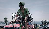 Taylor Phinney (USA/Cannondale-Drapac) up the Montée de Naves d'Aubrac (Cat1/1058m/8.9km/6.4%)<br /> <br /> 104th Tour de France 2017<br /> Stage 15 - Laissac-Sévérac l'Église › Le Puy-en-Velay (189km)