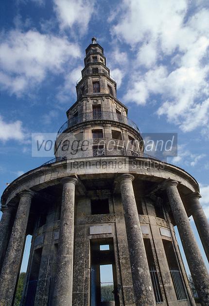 Europe/France/Centre/Indre-et-Loire/Vallée de la Loire/Amboise : La pagode de Chanteloup édifiée en 1775