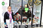 Mary O'Leary FROM CUPAN TAE KENMARE WHO WON THE PRISE FOR THE BEST DRESSED WINDOW IN KENMARE FOR CHRISTMAS